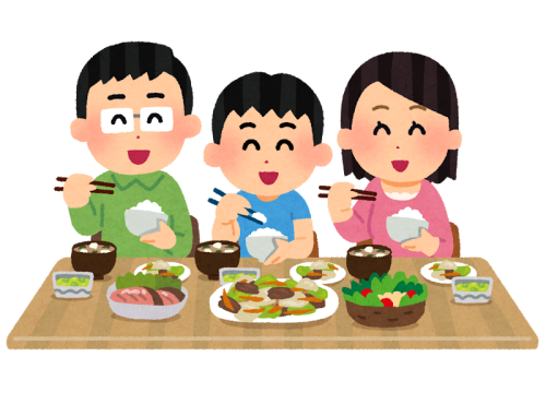 家族と一緒に食事!/食育ポータル/倉敷市